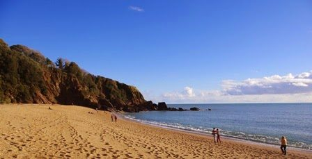 January = Brunch on the beach at Blackpool Sands!